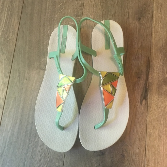 8dc64f85a19 Ipanema Shoes - Ipanema Thong Grendene Flip Flops Sandals Teal 10